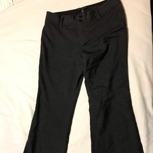 Banana Republic black dress slacks!